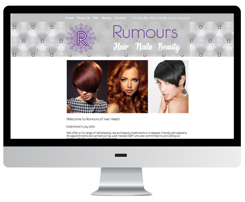 Rumours Salon Project